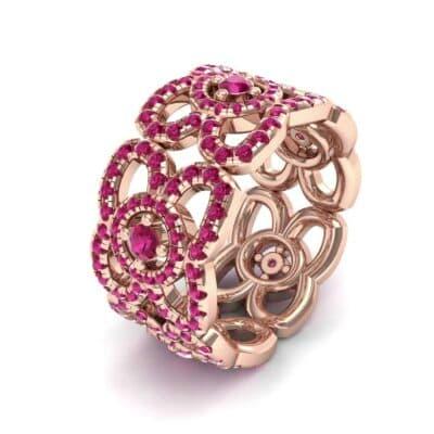 Duchess Cutout Ruby Ring (1.54 Carat)