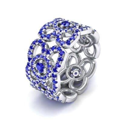 Duchess Cutout Blue Sapphire Ring (1.54 Carat)