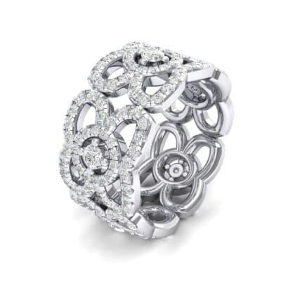 Duchess Cutout Diamond Ring (1.54 Carat)