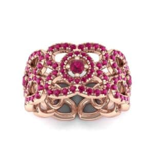 Duchess Cutout Ruby Ring (1.54 Carat)