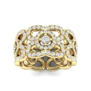 Duchess Cutout Diamond Ring (1.54 Carat)