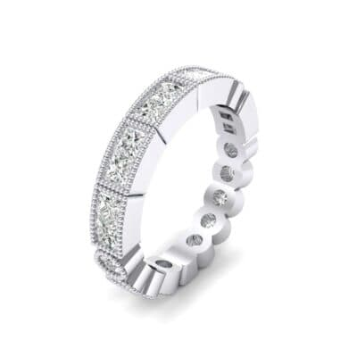 Lady Milgrain Bezel-Set Diamond Ring (1.2 CTW)