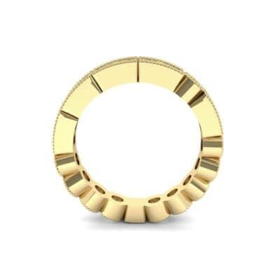 Lady Milgrain Bezel-Set Diamond Ring (1.2 CTW) Side View