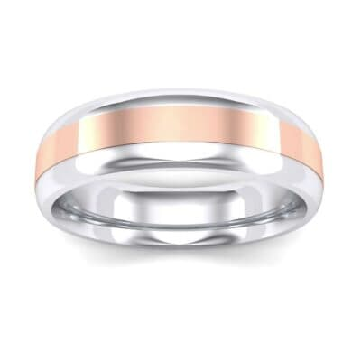 Center Stripe Two-Tone Ring