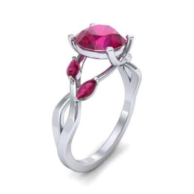 Twisting Vine Ruby Engagement Ring (2.08 CTW)