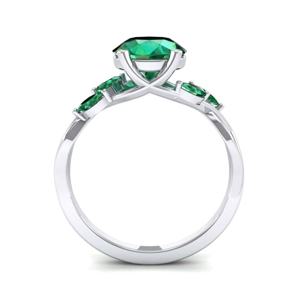 4932 Render 1 01 Camera3 Stone 1 Emerald 0 Floor 0 Metal 4 White Gold 0 Emitter Aqua Light 0