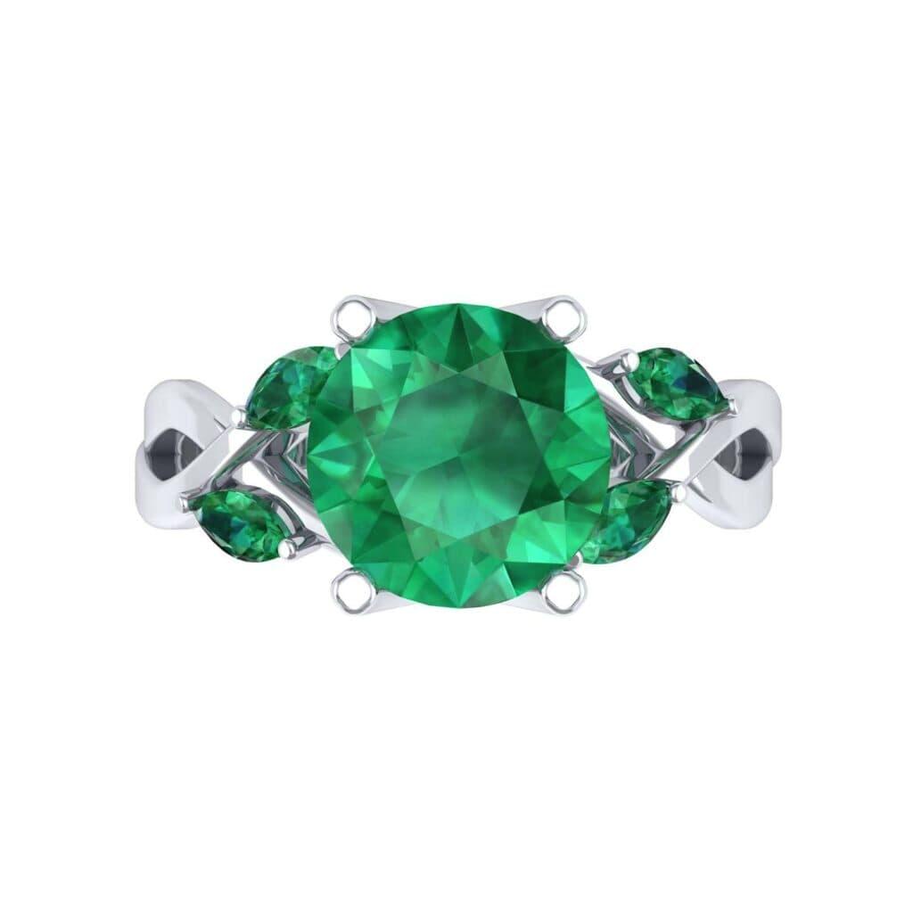4932 Render 1 01 Camera4 Stone 1 Emerald 0 Floor 0 Metal 1 Platinum 0 Emitter Aqua Light 0