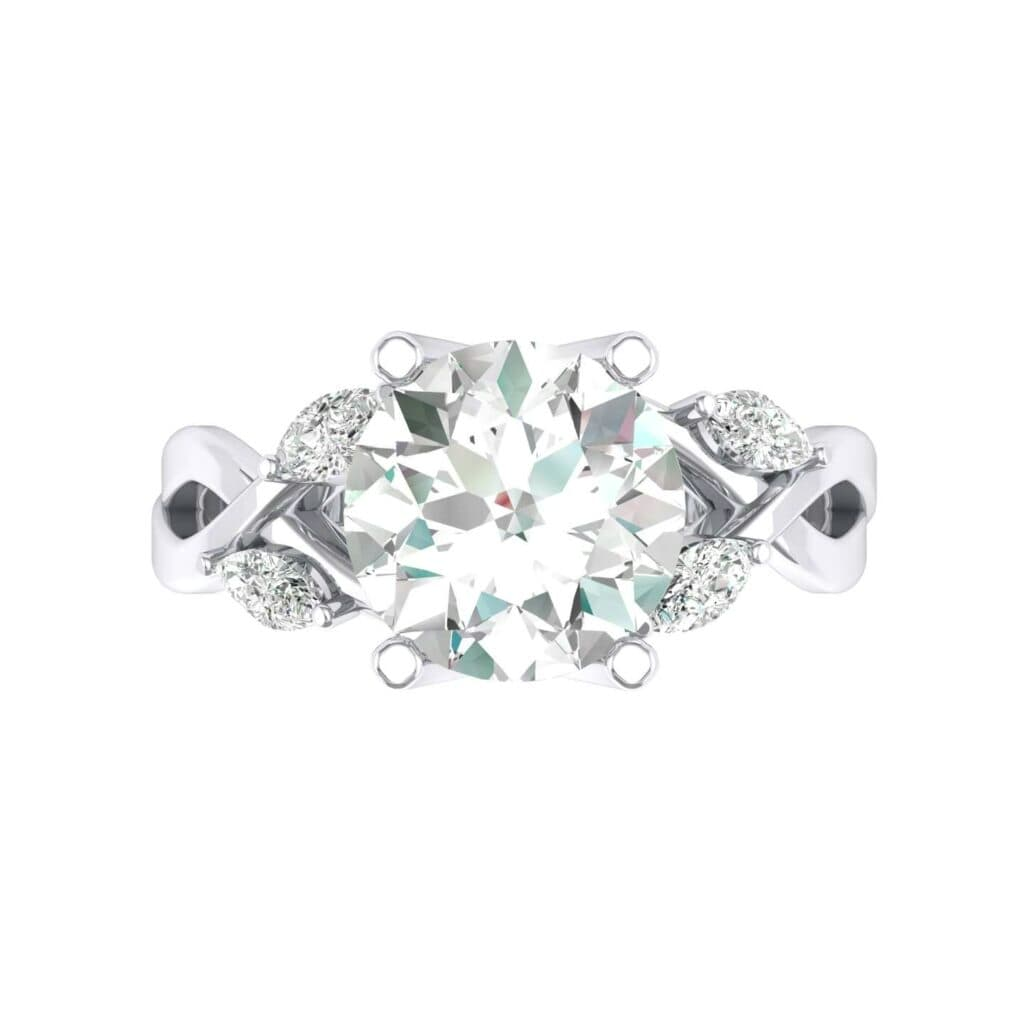 4932 Render 1 01 Camera4 Stone 4 Diamond 0 Floor 0 Metal 4 White Gold 0 Emitter Aqua Light 0