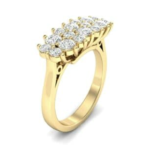 Embrace Diamond Cluster Engagement Ring (1 Carat)