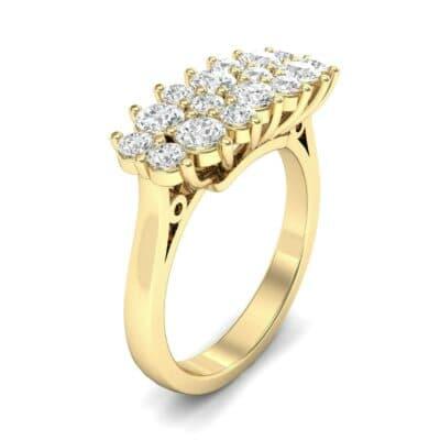 Embrace Diamond Cluster Engagement Ring (1 Carat)