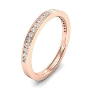 Extra-Thin Channel-Set Diamond Ring (0.2 Carat)