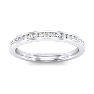 Extra-Thin Channel-Set Diamond Ring (0.2 Carat)