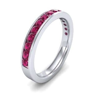 Medium Channel-Set Ruby Ring (1.44 Carat)