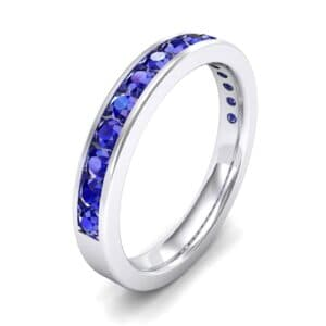 Medium Channel-Set Blue Sapphire Ring (1.44 Carat)