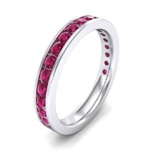 Medium Channel-Set Ruby Ring (1.83 Carat)