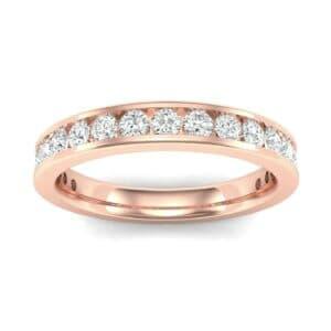 Medium Channel-Set Diamond Ring (0.67 Carat)