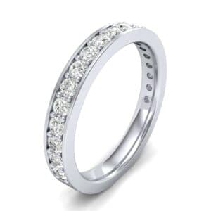 Medium Channel Pave Diamond Ring (0.57 Carat)