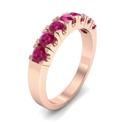 Seven-Stone Ruby Ring (1.12 Carat)