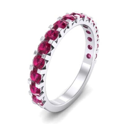 Square Prong Ruby Ring (1.26 Carat)