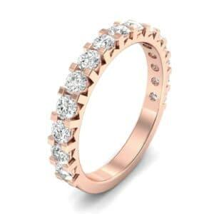 Square Prong Diamond Ring (0.83 Carat)