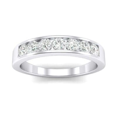 Channel-Set Seven-Stone Diamond Ring (0.44 Carat)