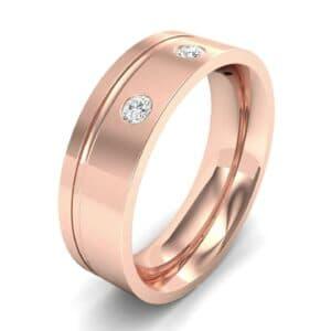 Round-Cut Trio Diamond Ring (0.14 Carat)