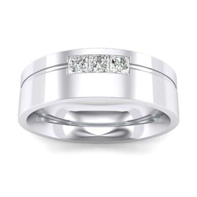 Channel-Set Trio Diamond Ring (0.24 Carat)
