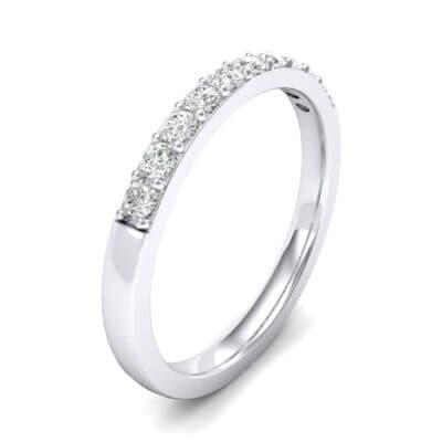 Thin Surface Prong Set Diamond Ring (0.25 Carat)