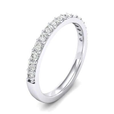 Thin Surface Prong Set Diamond Ring (0.38 Carat)
