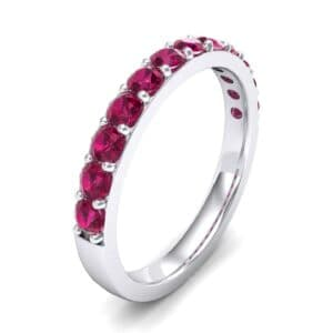 Surface Prong Set Ruby Ring (0.82 Carat)