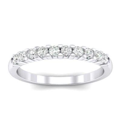 Thin Shared Prong Diamond Ring (0.25 Carat)