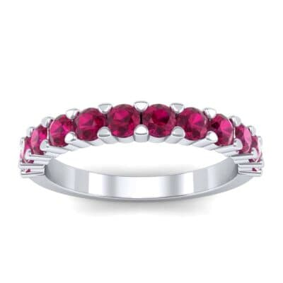 Shared Prong Ruby Ring (1.01 Carat)