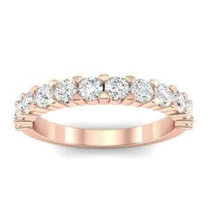 Shared Prong Diamond Ring (0.66 Carat)
