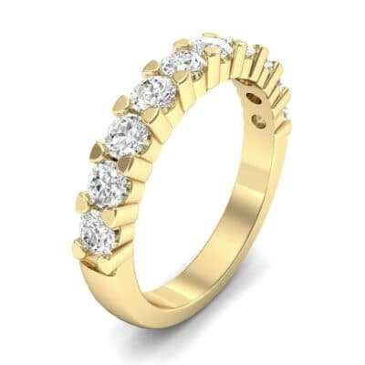 Wide Shared Prong Diamond Ring (1 Carat)