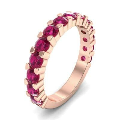 Wide Shared Prong Ruby Ring (1.92 CTW)
