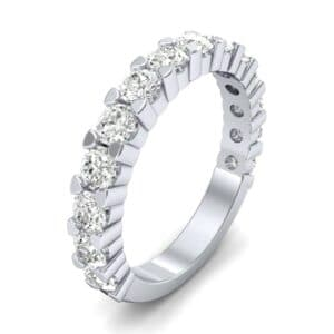 Wide Shared Prong Diamond Ring (1.4 Carat)