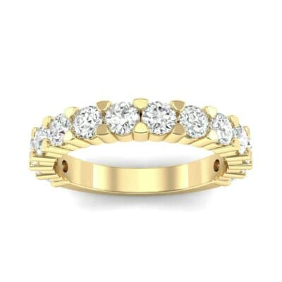 Wide Shared Prong Diamond Ring (1.4 CTW) Top Dynamic View