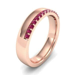 Illusion-Set Ruby Ring (0.02 Carat)
