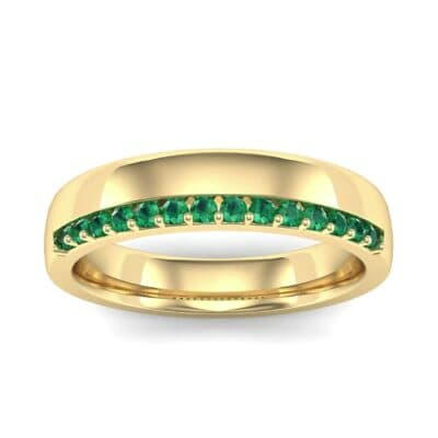 Illusion-Set Emerald Ring (0.02 Carat)