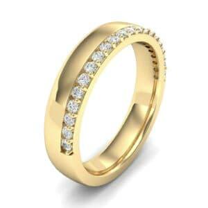 Illusion-Set Diamond Ring (0.24 Carat)