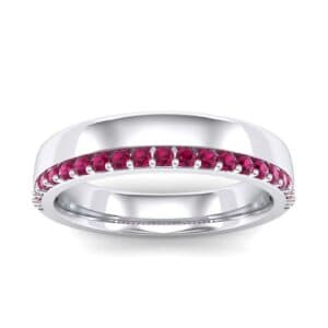 Illusion-Set Ruby Ring (0.3 Carat)