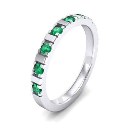 Barre Emerald Ring (0.42 Carat)