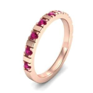 Barre Ruby Ring (0.42 Carat)