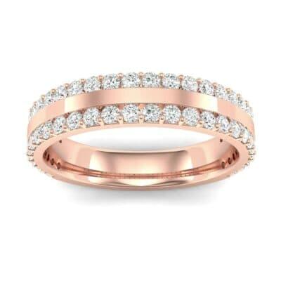 Double Diamond Edge Ring (0.71 Carat)