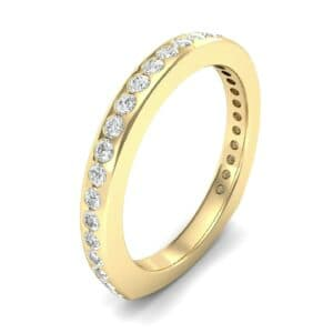 Squared Shank Diamond Ring (0.47 Carat)