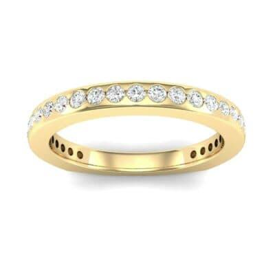 Squared Shank Diamond Ring (0.47 Carat)
