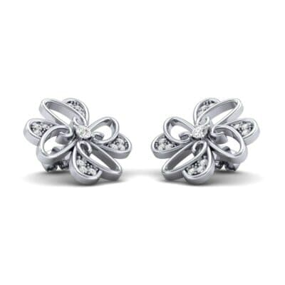 Dancing Flower Diamond Earrings (0.4 Carat)