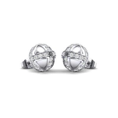 Royal Dome Diamond Earrings (0.64 Carat)