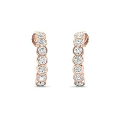 Seven-Stone Bubble Diamond Earrings (0.49 Carat)