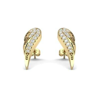 Angel Wing Diamond Earrings (0.34 Carat)